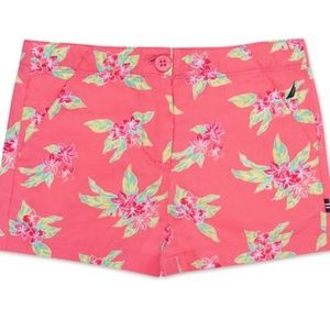 NWT NAUTICA Tropical Flower Shorts Size 2T